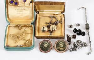 Parti smycken, mestadels 1900-talets första del