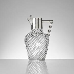 Vinkaraff, Glas med silvermontering