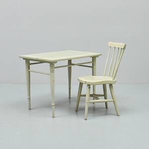 Barnmöbel, bord  stol