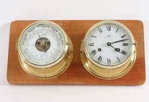 Skeppsur och barometer, Schatz
