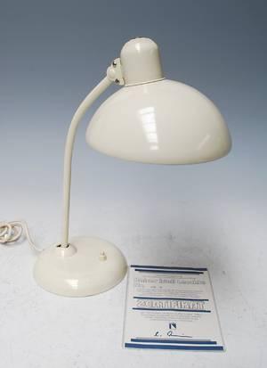 Christian Dell 1893-1974. Kaiser bordlampe, Jubilæumsmodel
