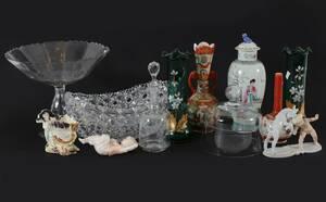 Parti glas och porslin