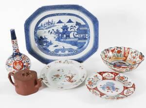 Orientaliskt porslin 6 delar