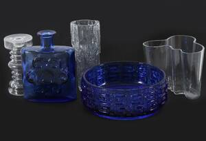 Glas 5 delar