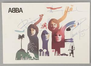 ABBA-AUTOGRAFER