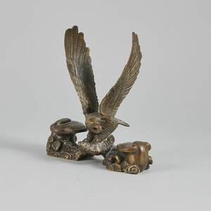 Skulptur, brons