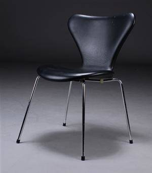 7er stol læder
