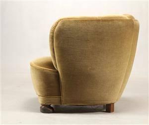 Ubekendt dansk møbelarkitektproducent 1930 - 1940-erne. Hvilestol