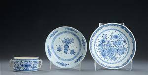 Tre dele kinesisk porcelæn 17001800-tallet 3