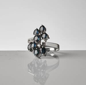Ring, 18K vitguld