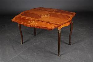Sofabord med klapper, rosentræ