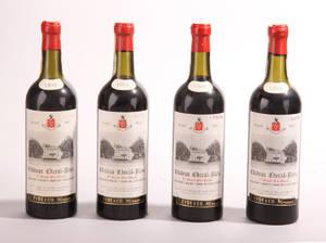 4 fl. Chateau Cheval Blanc 1959 St. Emilion 1. Grand Cru Classé