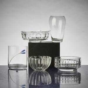 Skålar  vaser, 5 delar