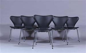 Arne Jacobsen. 7´er stole 6