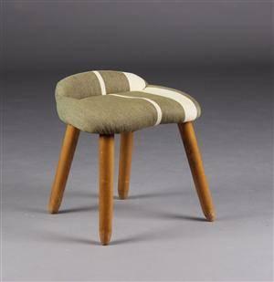 Dansk møbelproducent. Taburet