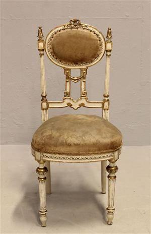 Stol, gustaviansk stil, 1800-tal