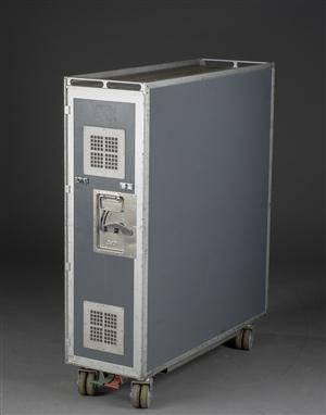 SAS fly-trolley af aluminium