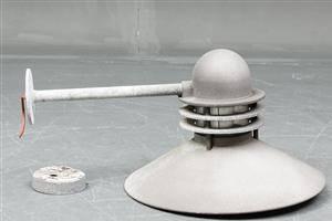 Alfred Homann  Ole V. Kjær.  Stor Nyhavn udendørs lampe