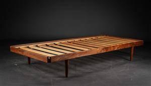 Dansk møbelproducent. Daybed af teak