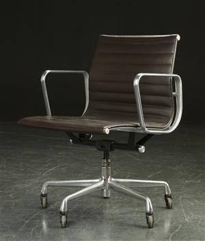 Slutpris f r charles eames kontorstol model ea for Eames ea 117 replica