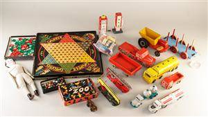 Samling legetøj fra Tekno, Hanse m.m. 17