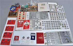 Møntsamling Danmark og udland