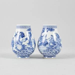 Vaser, 1 par porslin
