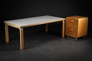 slutpris f r alvar aalto sofabord birk og. Black Bedroom Furniture Sets. Home Design Ideas