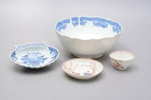 Parti porslin, Kina 1700-tal