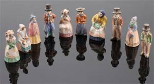 hjorth keramik figurer Slutpris för L. Hjorth. Syv figurer af hjorth keramik figurer