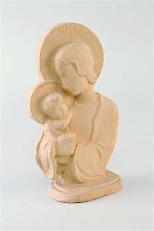 Arne Bang, Madonna med barn