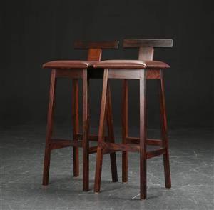 Par barstole af palisander c00fb5cb6be0e