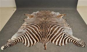 zebraskinn till salu