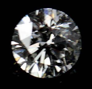 Løs Brillantslebet Diamant.