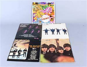 Samling LP-skivor, Beatles samt The world of the zombies 5