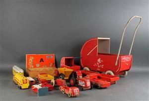 Samling Hanse legetøj. 16