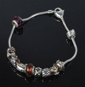 Aagaard Lovelinks - Petite armbånd med 11 charms d9aeabeed0e80