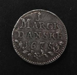 Danmark, samling skillings mønter m.m.