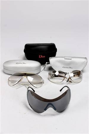 Christian Dior, solglasöong, 3 par