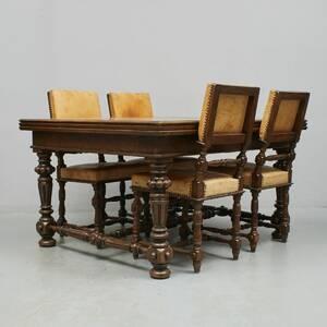 Matbord,  4 st stolar