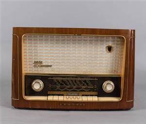 Radio, Grundig, Hifi Zauberklang Typ 2070S 1950-tal