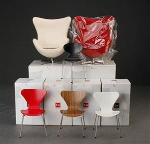 arne jacobsen miniature stole