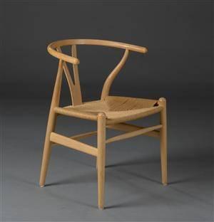 slutpris f r hans j wegner y stol model. Black Bedroom Furniture Sets. Home Design Ideas