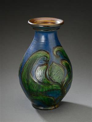 keramik vase kähler Slutpris för Kähler. Vase af keramik, dekoreret keramik vase kähler