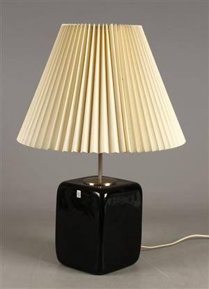 Holmegaard, Kubus bordlampe, olivengrå
