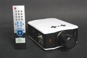LED Multimedia projektør incl. vægloft-hængt 72