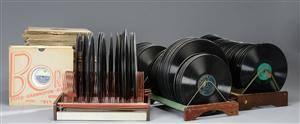 Stor samling lakplader, til 78 omdrejninger ca 400