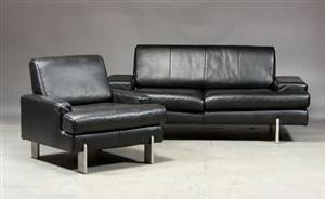 slutpris f r bmp rolf benz to samt. Black Bedroom Furniture Sets. Home Design Ideas