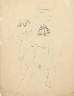 Teckning, Ernst Josephson 1851-1906