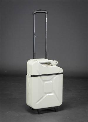 GasCase. Trolley, Milky white